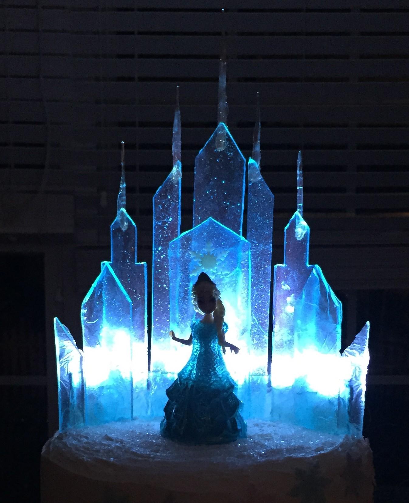 Frozen Ice Cake Tutorial